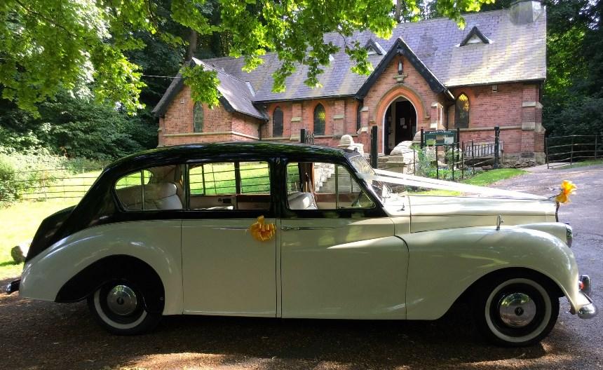 Austin Princess Classic Austin Princess Wedding Car In